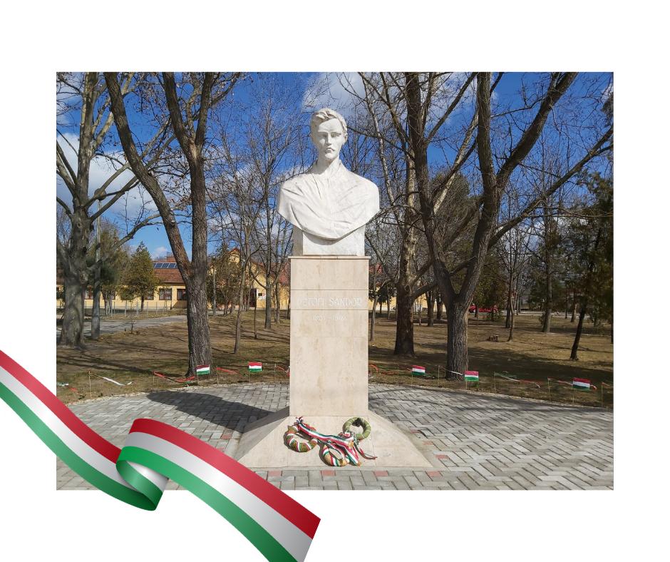 Tisztelet az 1848/49-es forradalom és szabadságharc hőseinek, akik Magyarország függetlenségéért harcoltak!